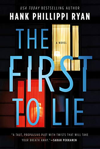 The First to Lie book cover